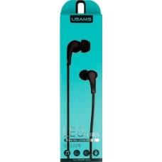 Наушники с микрофоном Usams Leo series Черный