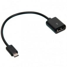 OTG кабель Koni Strong KS06 USB- micro USB Черный