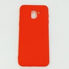 Бампер для Samsung J6 2018 Красный