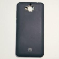 Бампер для Huawei Y5 силикон Темно-синий