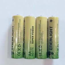 Батарейка пальчиковая щелочная Enerlight R06