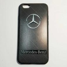Бампер для iPhone 6/6S Plus Mercedes-Benz Черный