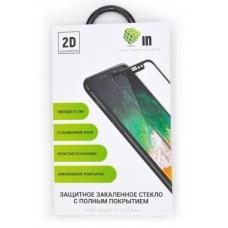 Защитное стекло для Samsung A750/A7 2D Черный