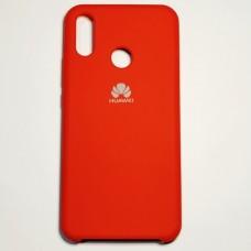 Бампер для Huawei P-Smart Plus/Nova 3i с пылеулавливателем Красный