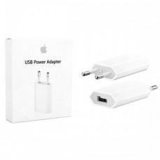 Сетевое зарядное устройство для iPhone 1A Белый