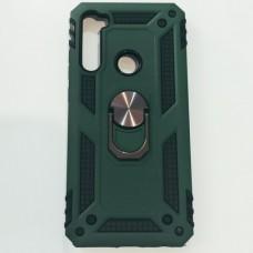 Бампер для Xiaomi Redmi Note 8T Antishock Зеленый+Черный
