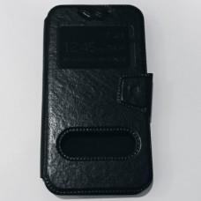 Универсальный чехол книжка 5.0-5.2 дюймов Черный