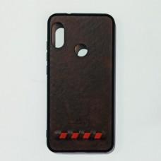 Бампер для Xiaomi A2 Lite, Redmi 6 Pro Шоколад