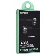 Наушники вакуумные Gorsun GS-A333 Черный