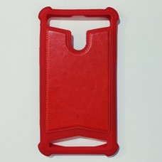 Бампер универсальный 5.6-6.0 дюйма Красный