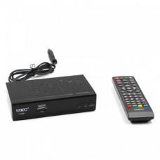 Цифровий T2 тюнер UKC HD-0968 з WiFi Чорний