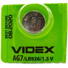 Батарейка щелочная Videx AG7 LR926