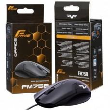 Комп'ютерна мишка дротова Frime FM75B USB Чорний