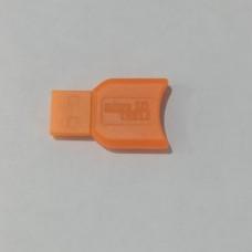 Card-reader micro SD-USB mix color