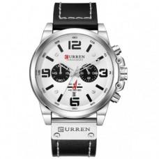 Часы Curren 8314 Черный+Белый
