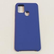 Бампер Soft Touch для телефону Samsung A21S Синій