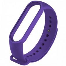 Ремешок для фитнесс браслета Mi Band 5 Фиолетовый