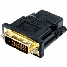 Переходник-адаптер DVI папа- HDMI мама Черный