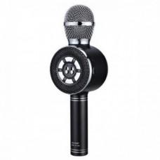 Караоке bluetooth мікрофон WSTER WS-669 Чорний