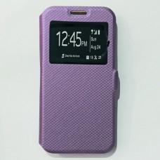 Чехол-книжка для Samsung A320 Фиолетовый