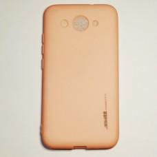 Бампер для Huawei y3 2017 Smtt Рожевий