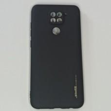 Бампер для Xiaomi Redmi Note 9 Черный