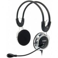 Наушники с микрофоном для Пк Sven AP-525MV Черный