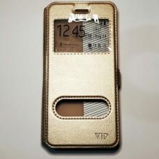Чехол-книжка для Huawei P10 Золотой