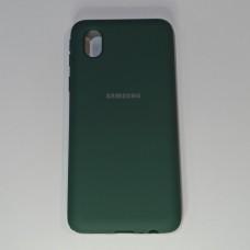 Бампер Soft Touch для Samsung A01/A013 Зелений