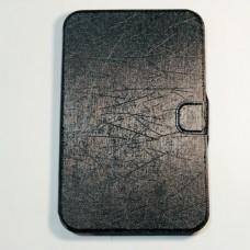 Чохол-книжка для планшета 7 дюймів з тесніням Чорний