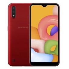 Смартфон Samsung SM-A015FZ (Galaxy A01 2/16Gb) (SM-A015FZRDSEK) Red