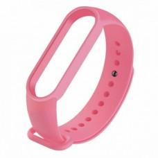 Ремінець для фітнес браслета Mi Band 5 Рожевий