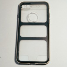 Бампер двухсторонний для iPhone 7/8 360 Full Прозрачный