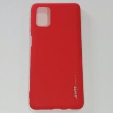 Бампер для телефона Samsung M51 Smit Красный