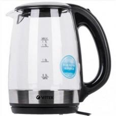 Стеклянный электрический чайник Vitek VT-7029 Прозрачный