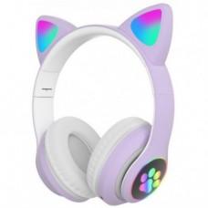 Навушники Bluetooth CATear VZV-23M LED вуха Фіолетовий
