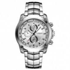 Кварцевий годинник Curren 8025 Сріблястий