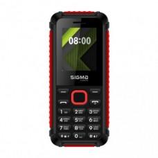 Мобільний телефон Sigma X-style 18 Track Black+Red