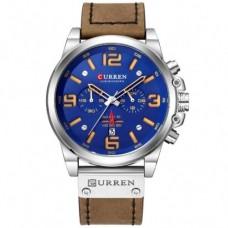 Часы Curren 8314 Коричневый+Синий