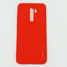 Бампер для Xiaomi Note 8 Pro Smit Красный