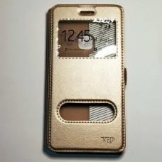 Чехол-книжка для Huawei P10 Lite Золотой