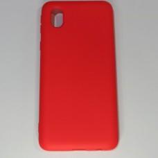 Бампер для Samsung A01/A013 Soft-touch Червоний