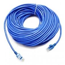 LAN интернет кабель 25 метров Синий
