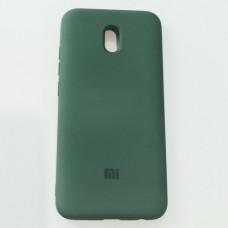Бампер для Xiaomi Redmi 8A Soft Touch Зеленый