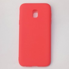 Бампер для Samsung j330 J3 Pro Красный