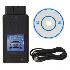 OBD2 диагностический сканер версии 1.4.0 для BMW Черный