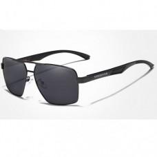 Сонцезахисні окуляри KINGSEVEN 7719 з футляром Чорний