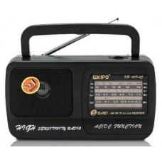 Радиоприемник Kipo KB-409AC 220 Вольт Черный