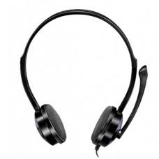 Наушники с микрофоном для Пк Sven AP-151MV Черный