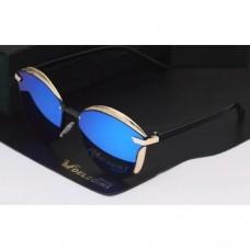 Cтильные солнцезащитные очки Delegina Синий